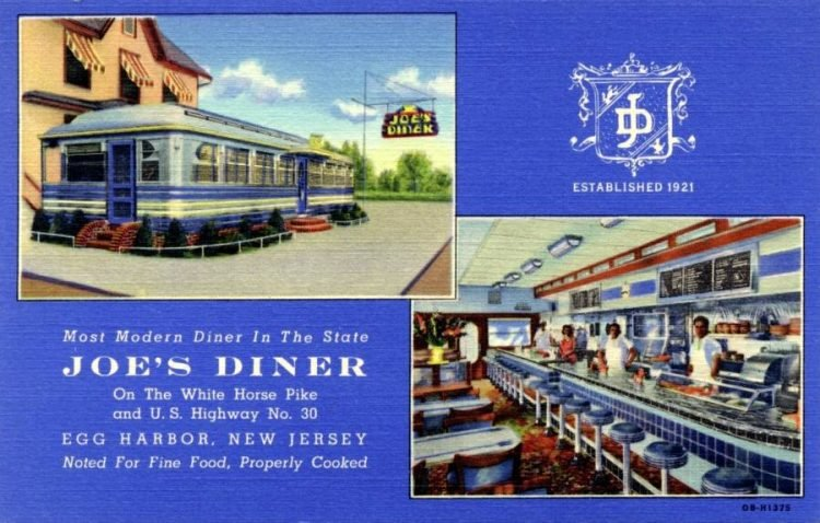 Joe's Diner - Egg Harbor New Jersey