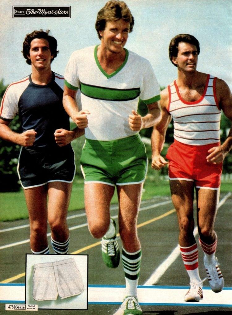 Jogging outfits from 1979 - Vintage catalog