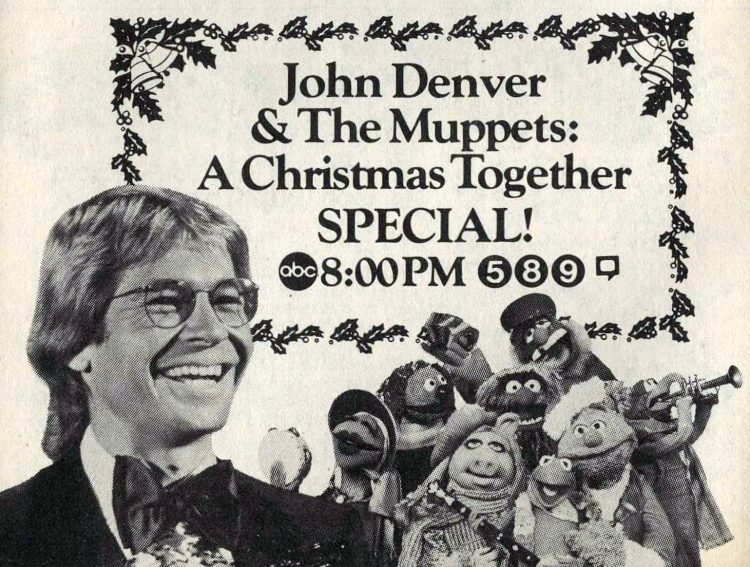 John Denver and Muppets TV special 1982
