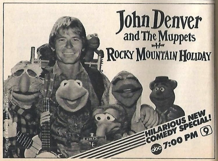 John Denver and the Muppets - Rocky Mountain Holiday 1982 TV special