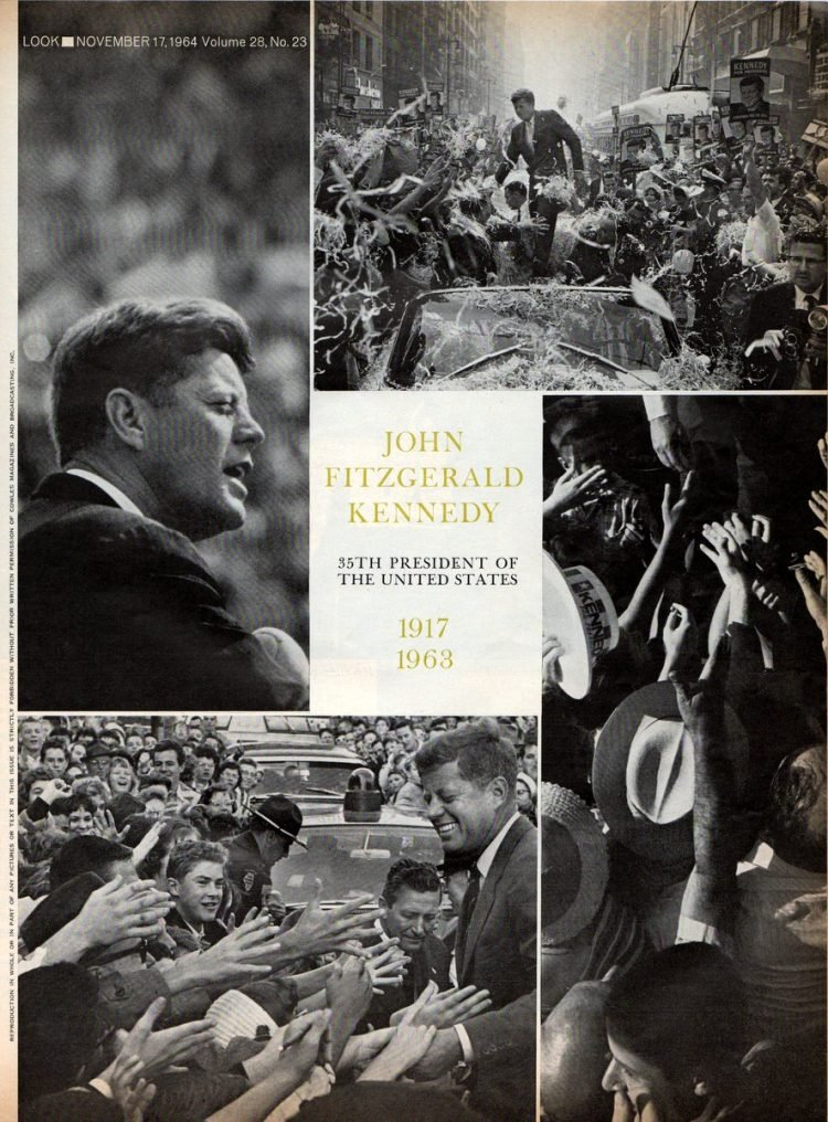 John Fitzgerald Kennedy from 1964