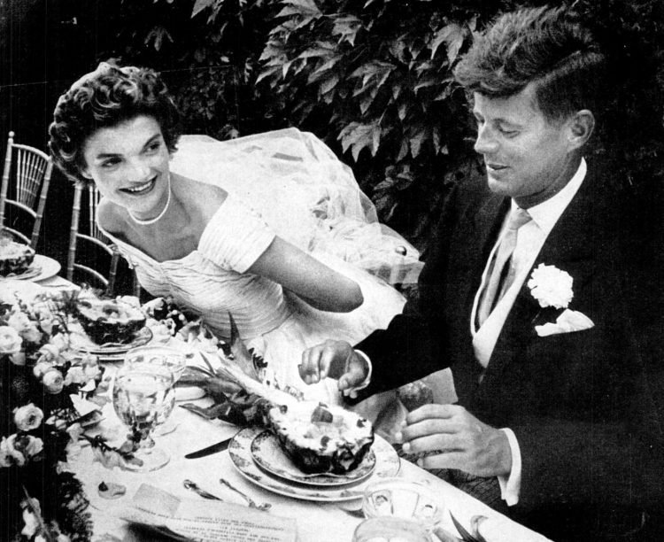 John Fitzgerald Kennedy wedding dinner 1953