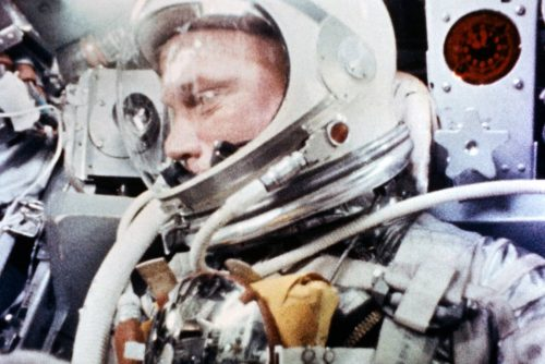 John Glenn During the Mercury-Atlas 6 Spaceflight (1962)