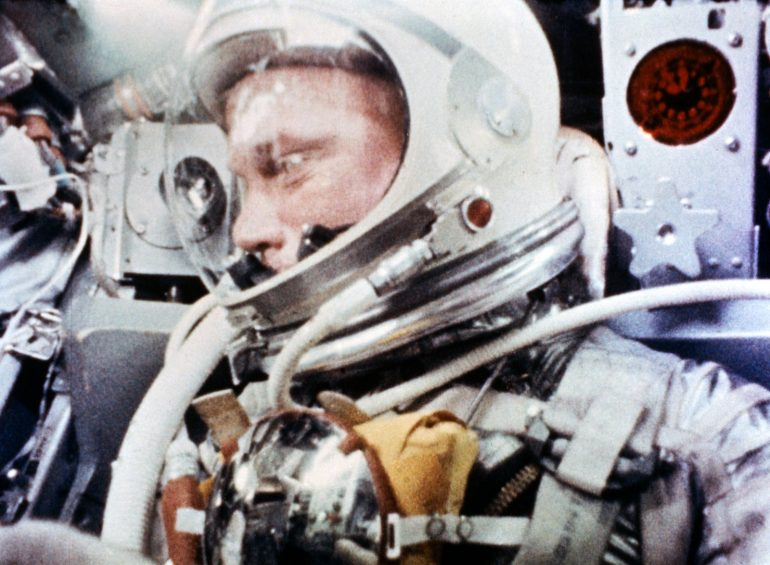 John Glenn During the Mercury-Atlas 6 Spaceflight (1962)