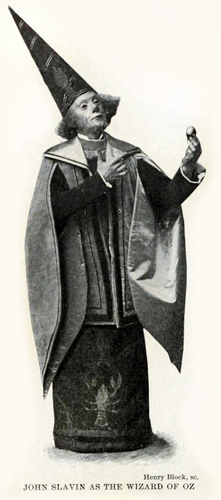 John Slavin as the Wizard of Oz - c1904