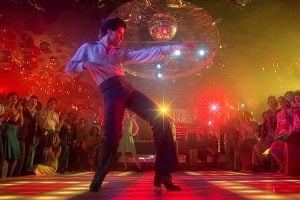 John Travolta lit up the dance floor with his disco moves in 'Saturday Night Fever' (1977)
