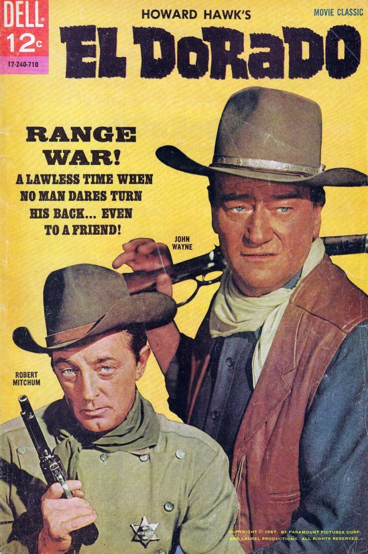 John Wayne - El Dorado comic book cover