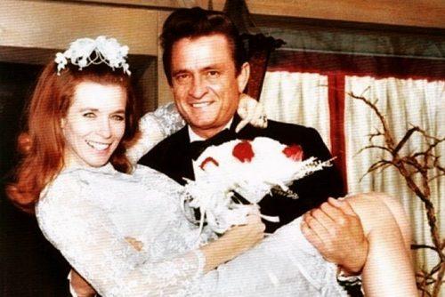 Johnny Cash & June Carter get married (1968)