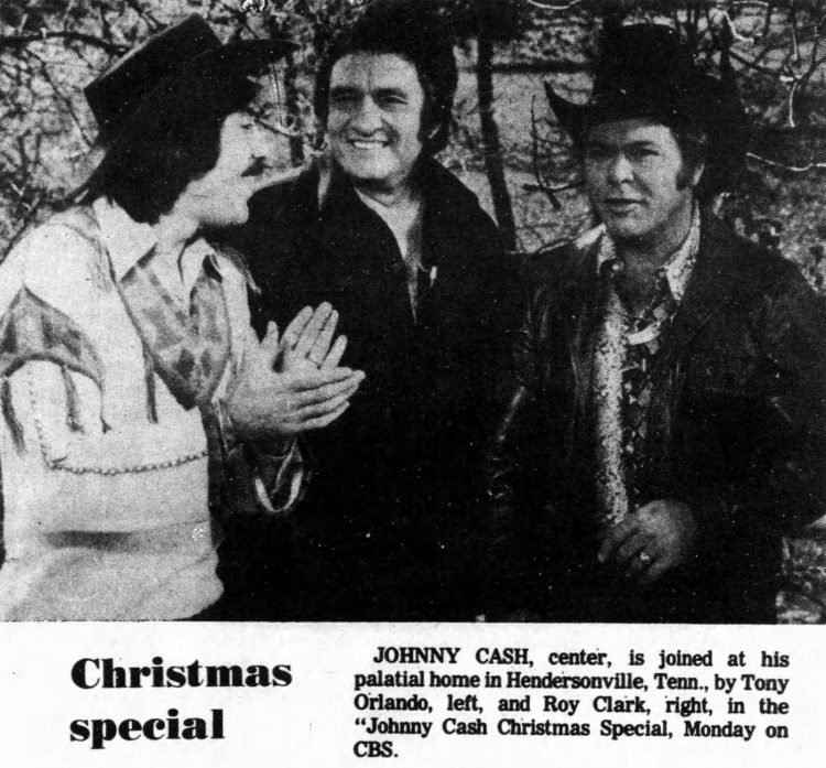Johnny Cash TV Christmas special 1976