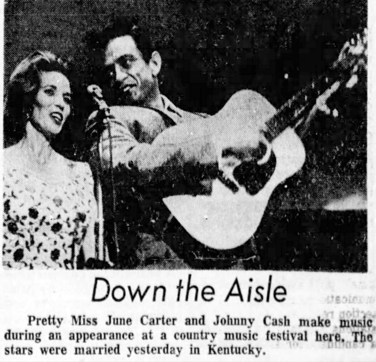 Johnny Cash and June Carter (1)