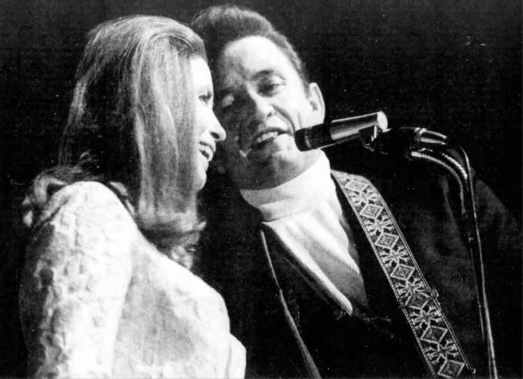 Johnny Cash and June Carter got married in 1968