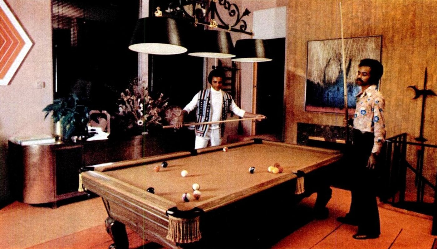 Johnny Mathis' Hollywood home in the 1970s (5)