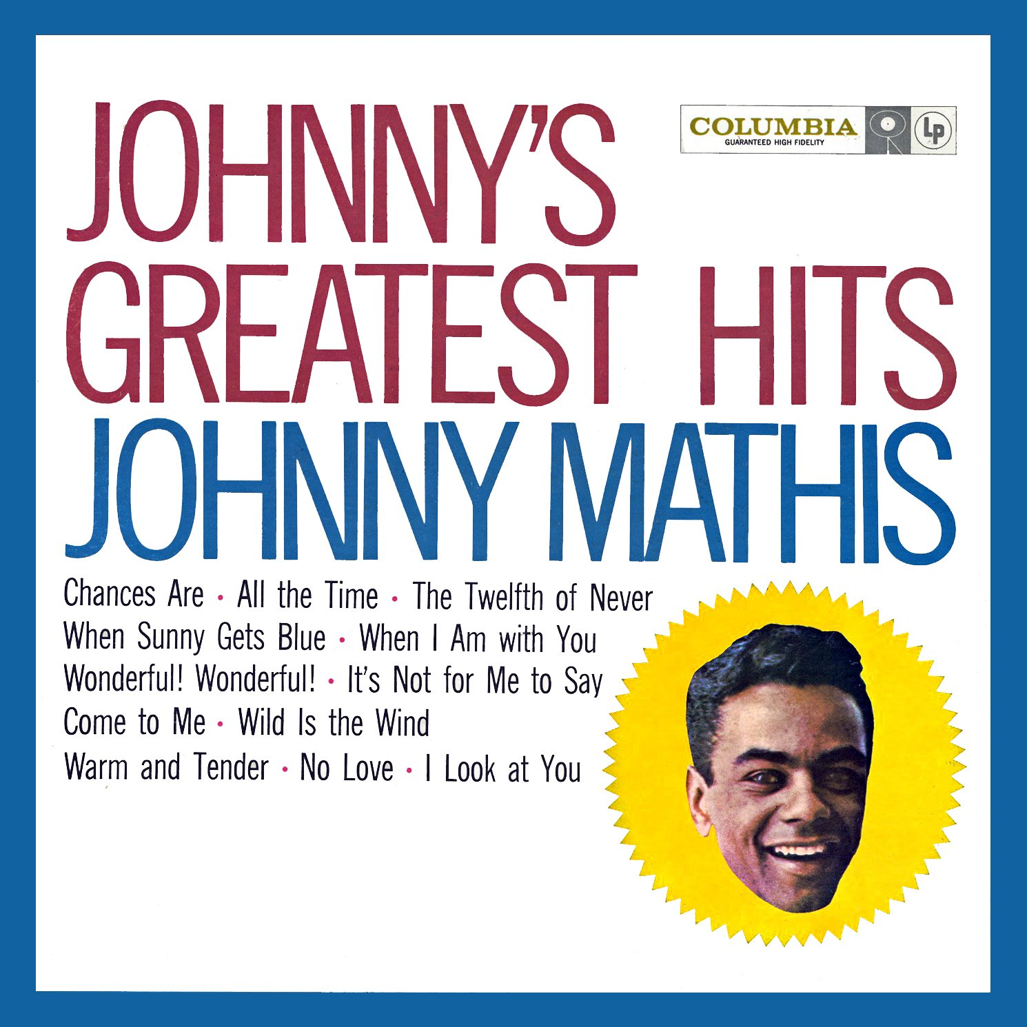 Johnny's Greatest Hits Johnny Mathis
