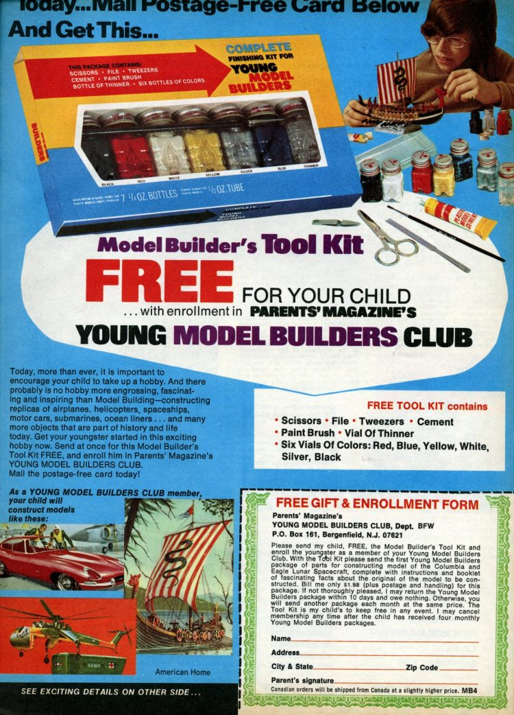 Join the Young Model Builders Club (1967)