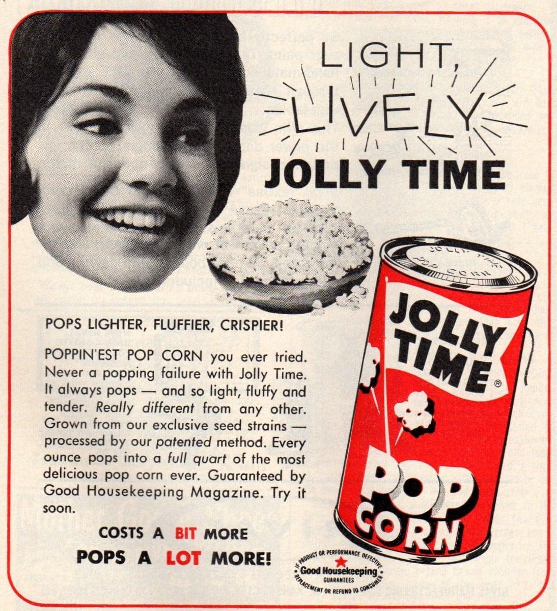 Jolly Time Pop Corn (1965)