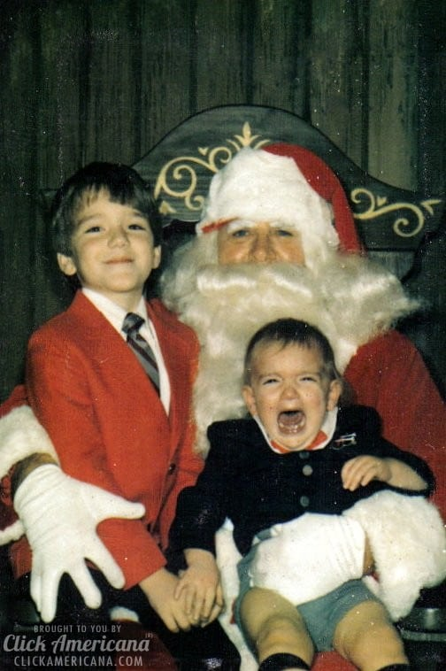 Jonathan has a serious phobia of Santa