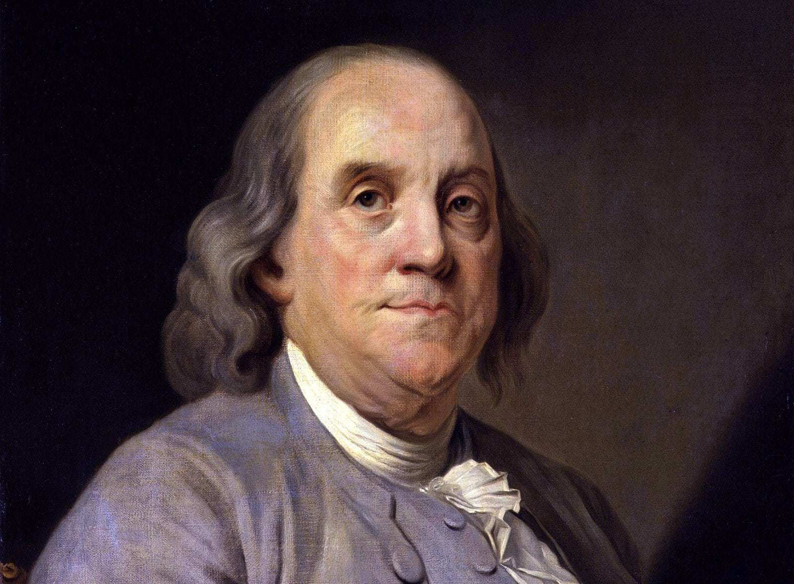 Joseph Siffrein Duplessis portrait Benjamin Franklin c1785