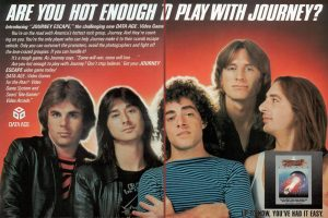 Journey band video game 1983