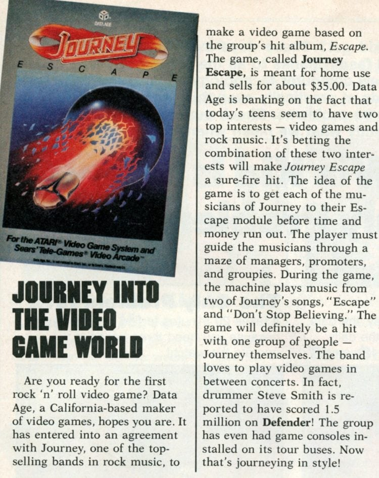 Article about Journey video game