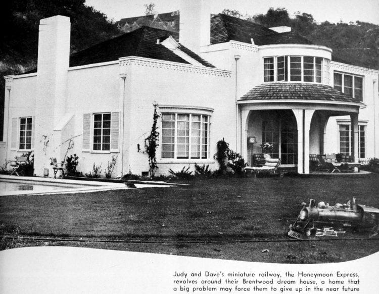 Judy Garland Rose home - 1942