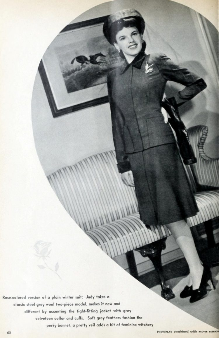 Judy Garland at home in 1942 (2)