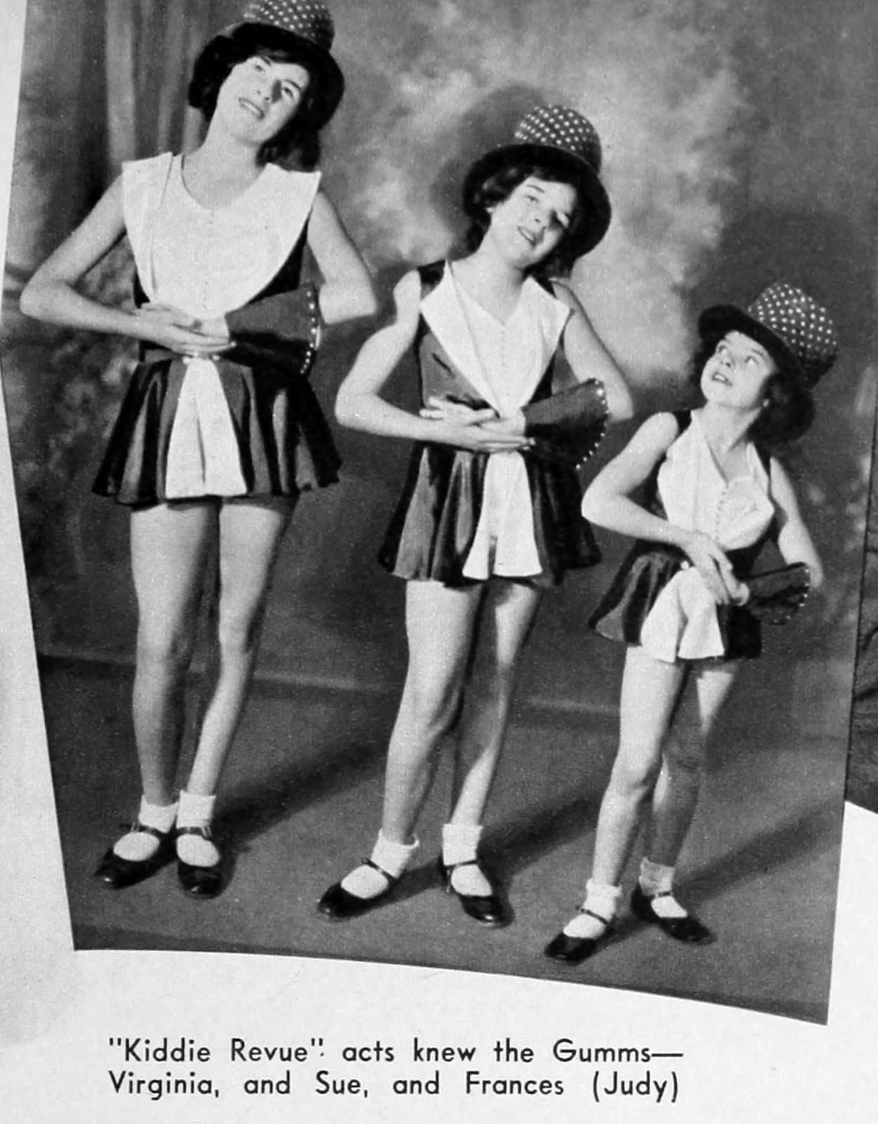 Judy Garland story - Gumm Sisters