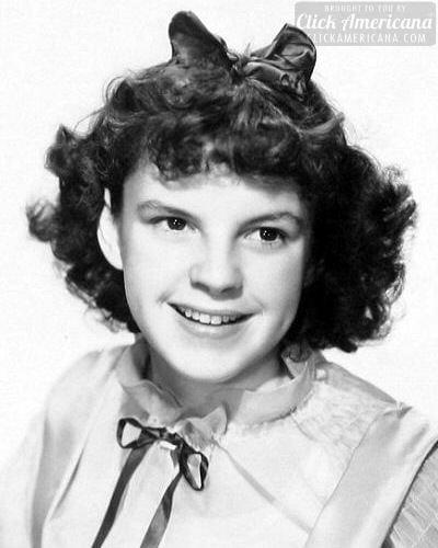 Judy Garland young - teen