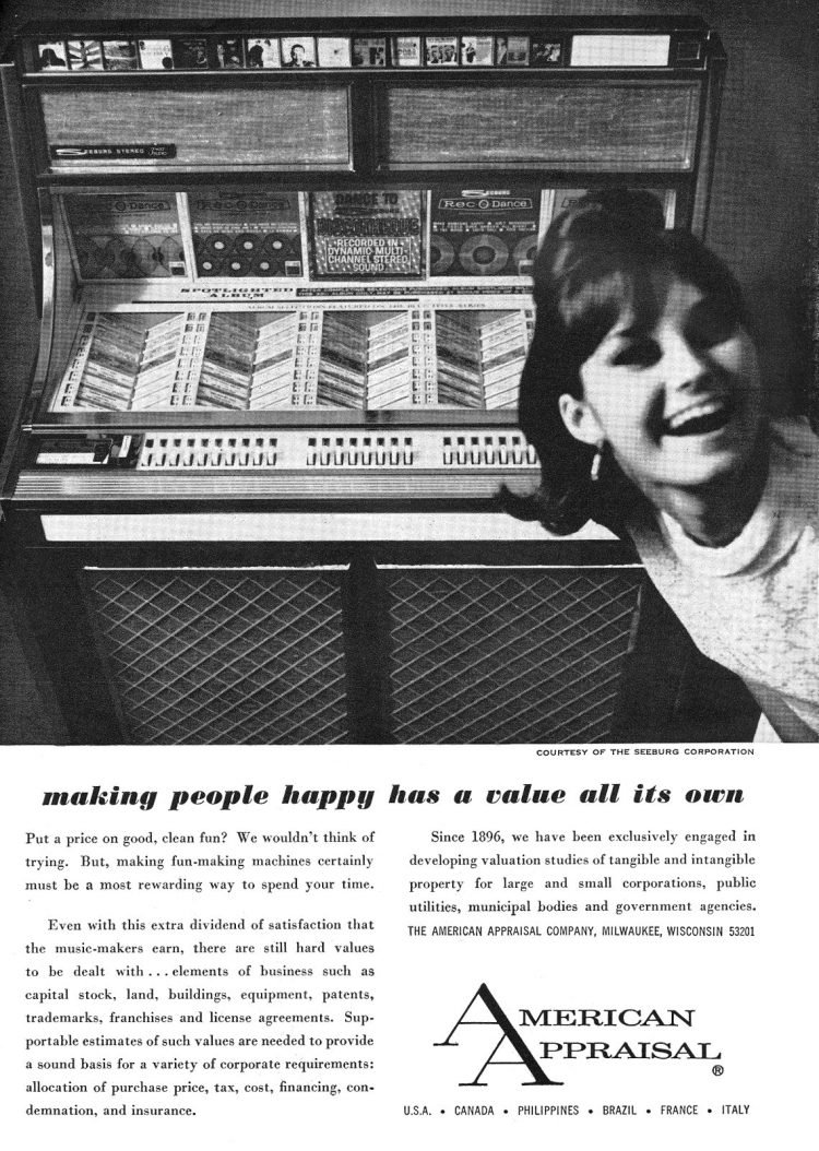 Jukebox music selection - 1967