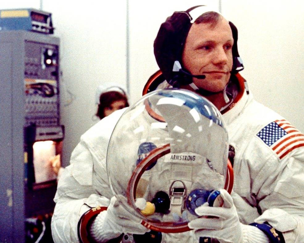 July 16, 1969, Apollo 11 commander Neil Armstrong