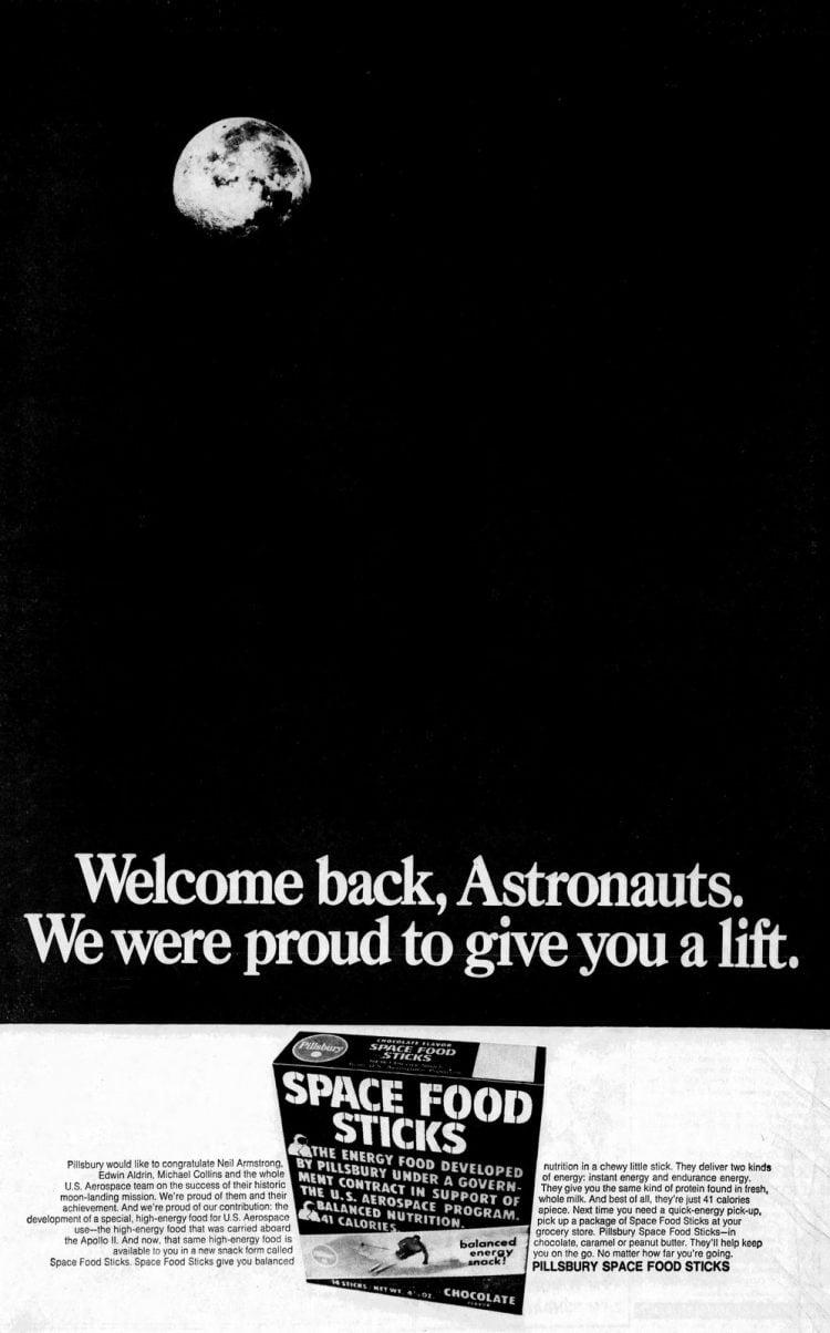 July 25 1969 - Pillsbury Welcome back astronauts - Apollo 11 moon