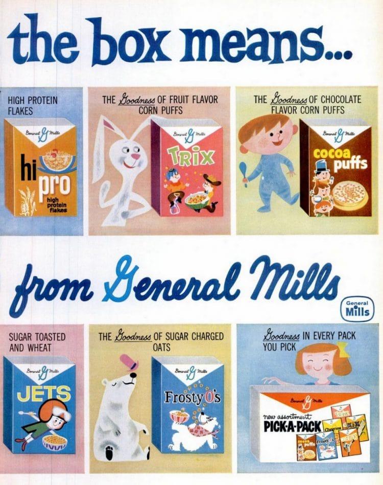 Jun 13, 1960 Cereal