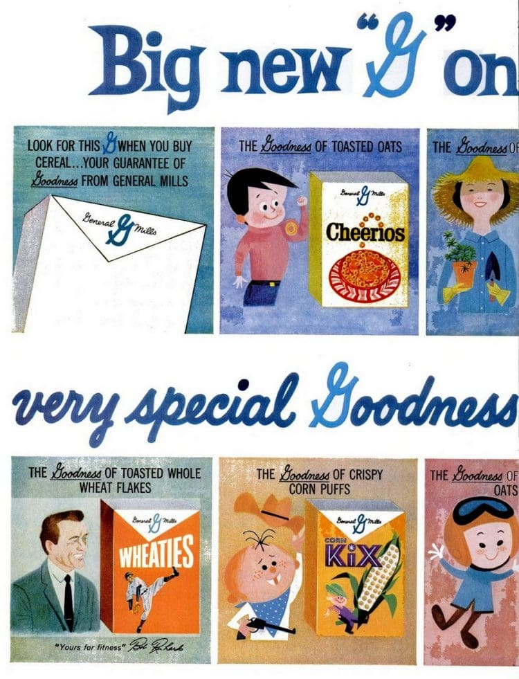 Jun 13, 1960 Cereal flavors