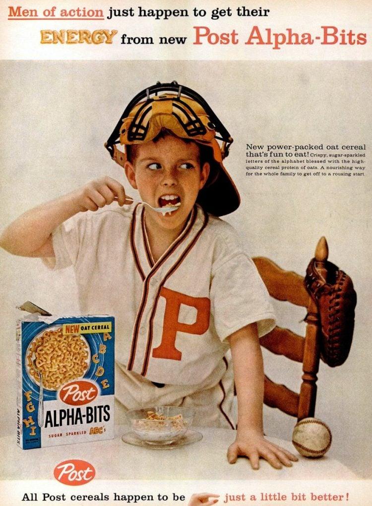 Jun 15, 1959 Post Alpha Bits cereal
