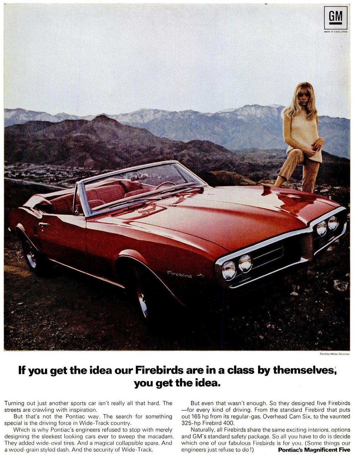 Jun 16, 1967 Pontiac Firebird cars