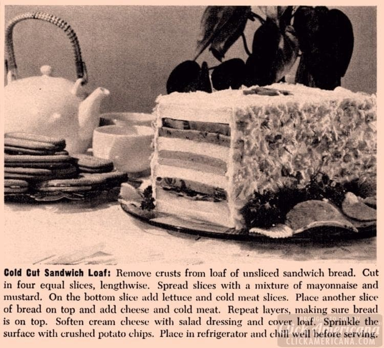 Jun 1960 Sandwich loaf recipe