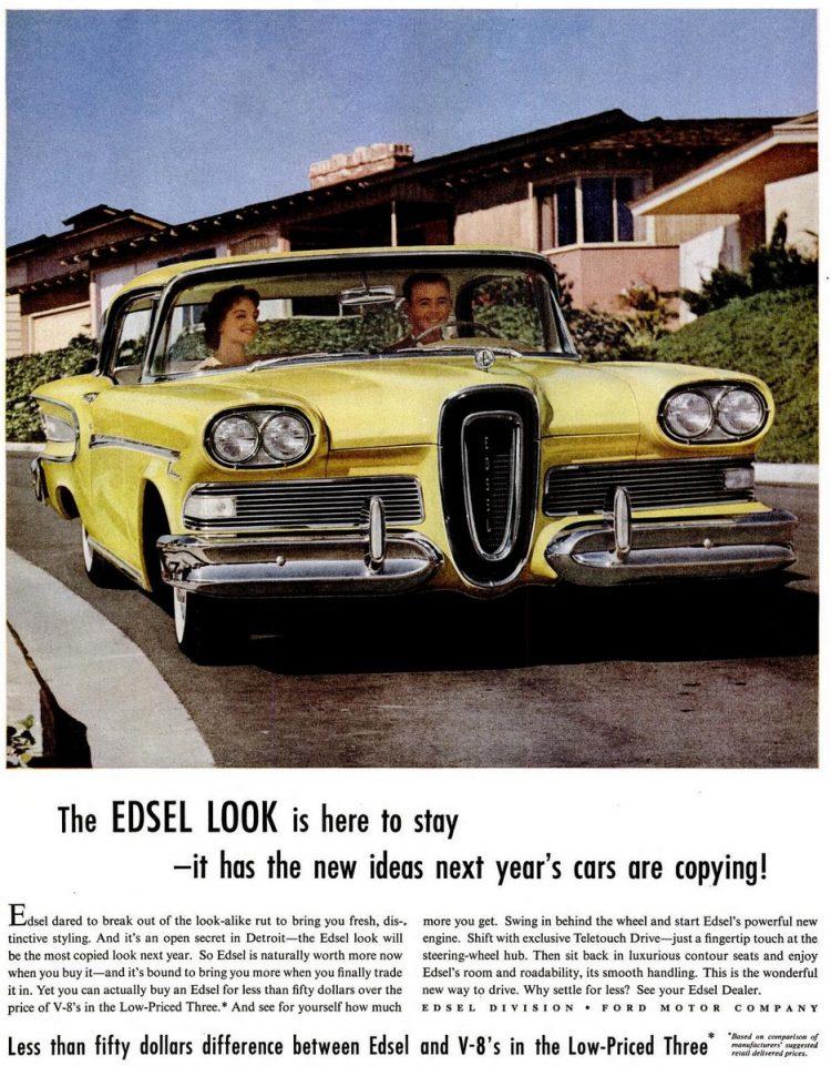 Jun 30, 1958 Edsel cars