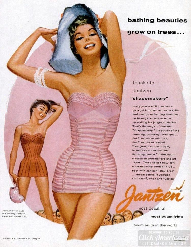 Jantzen '50s swimsuits