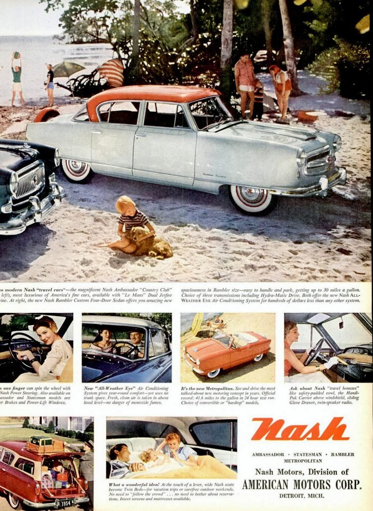 Jun 7, 1954 Nash cars