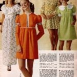 Dresses with ruffled flounces, ribbon and lace trim, smocked midriff