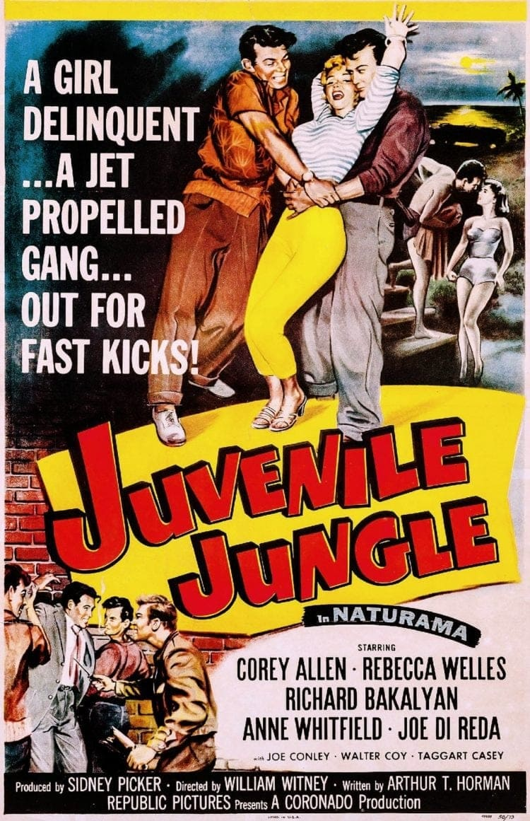 Juvenile Jungle movie poster 1958