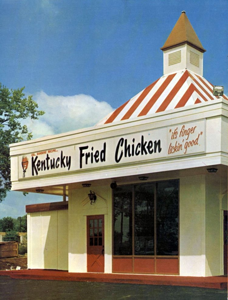 KFC Kentucky Fried Chicken restaurants in the 1960s (2)