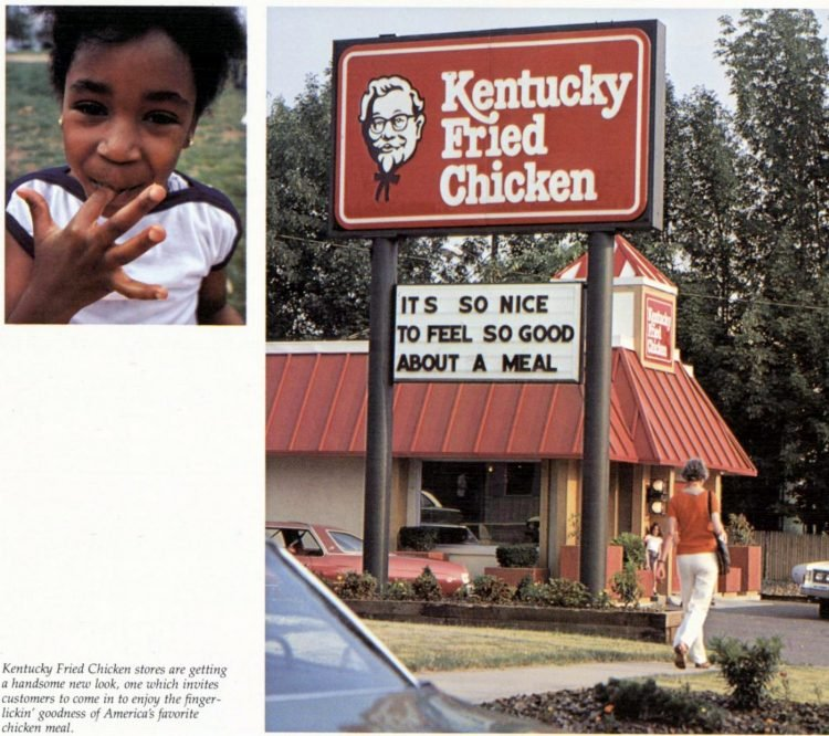 KFC Kentucky Fried Chicken restaurants in the 1970s (1)