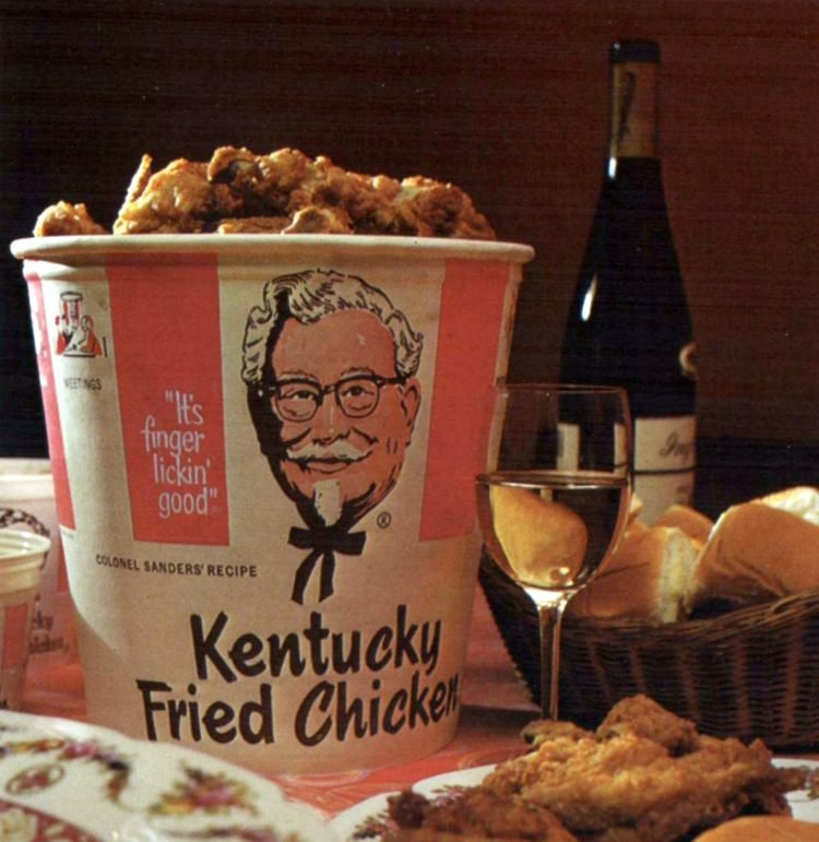 KFC Kentucky Fried Chicken restaurants in the 1970s (2)