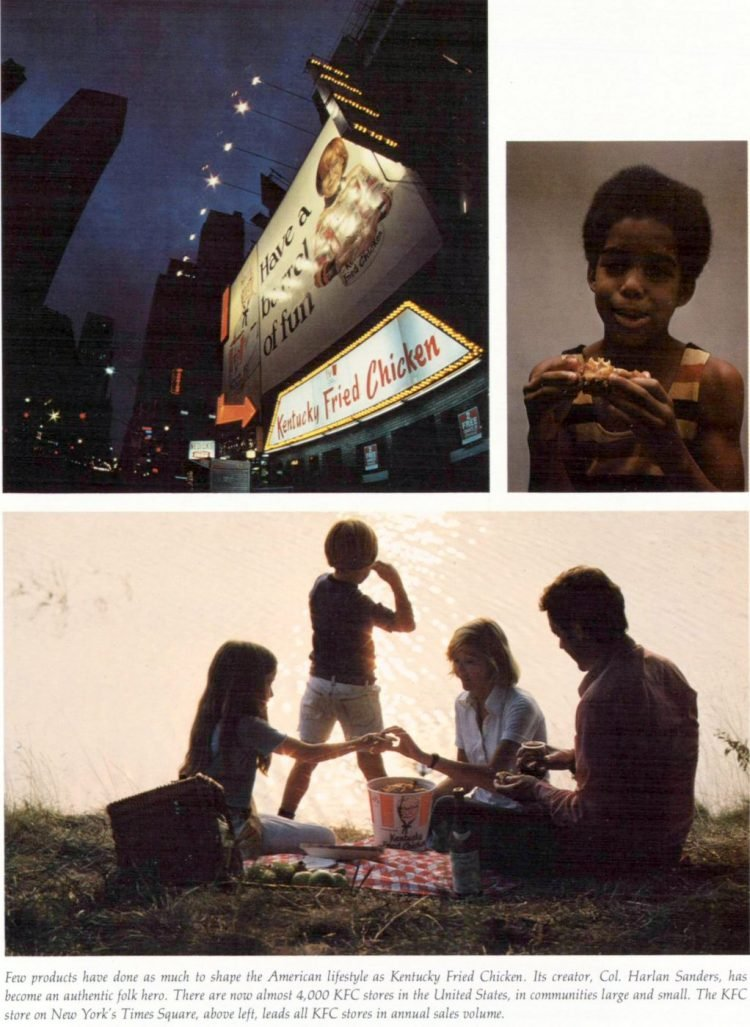 KFC Kentucky Fried Chicken restaurants in the 1970s (4)