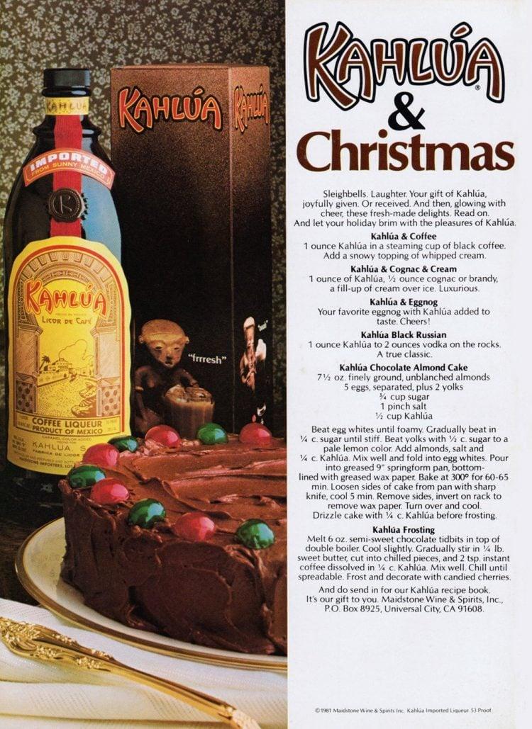 Kahlua Christmas