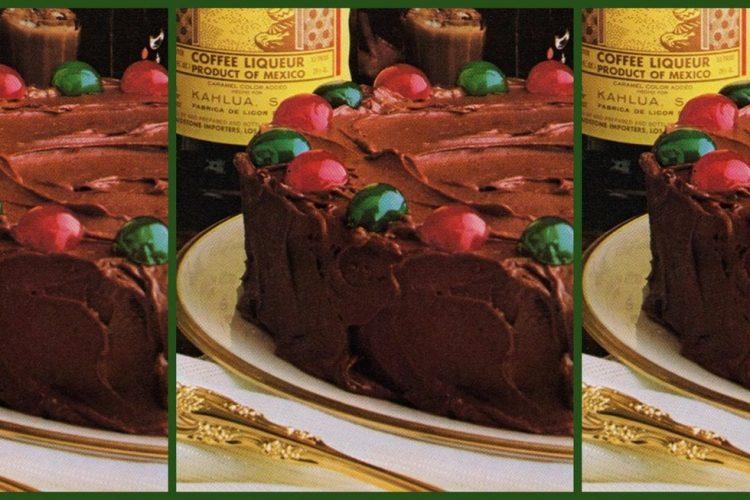 Kahlua Christmas recipes from 1981