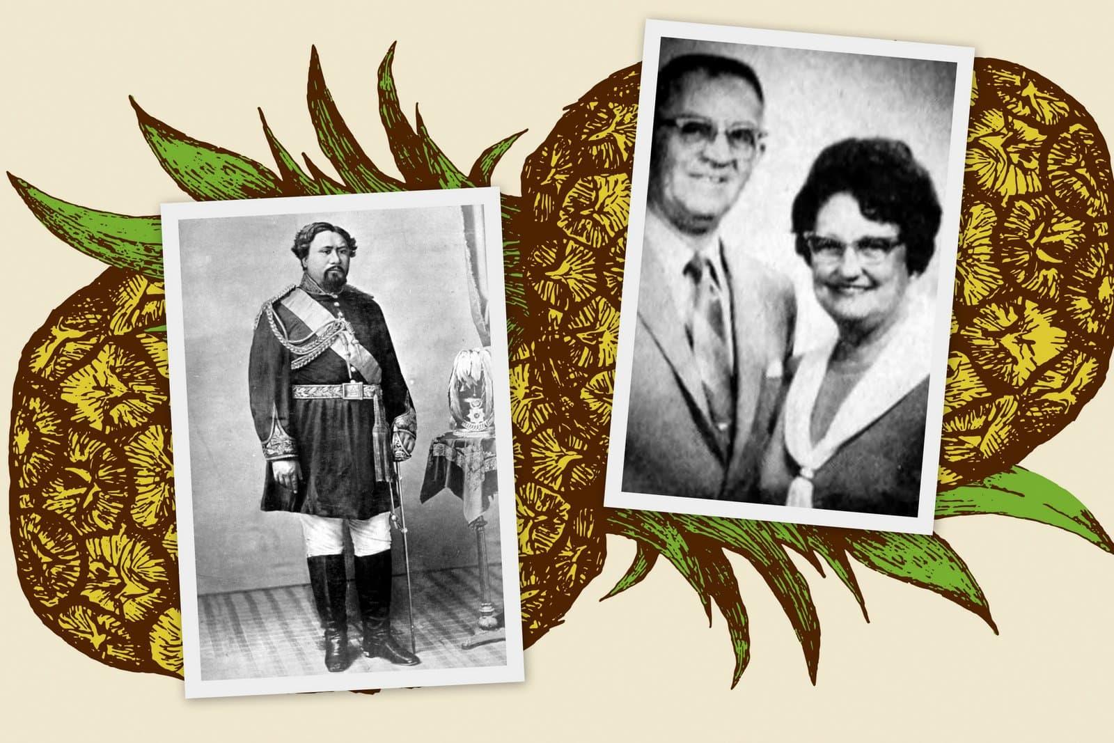 Kamehameha V and his pie creator