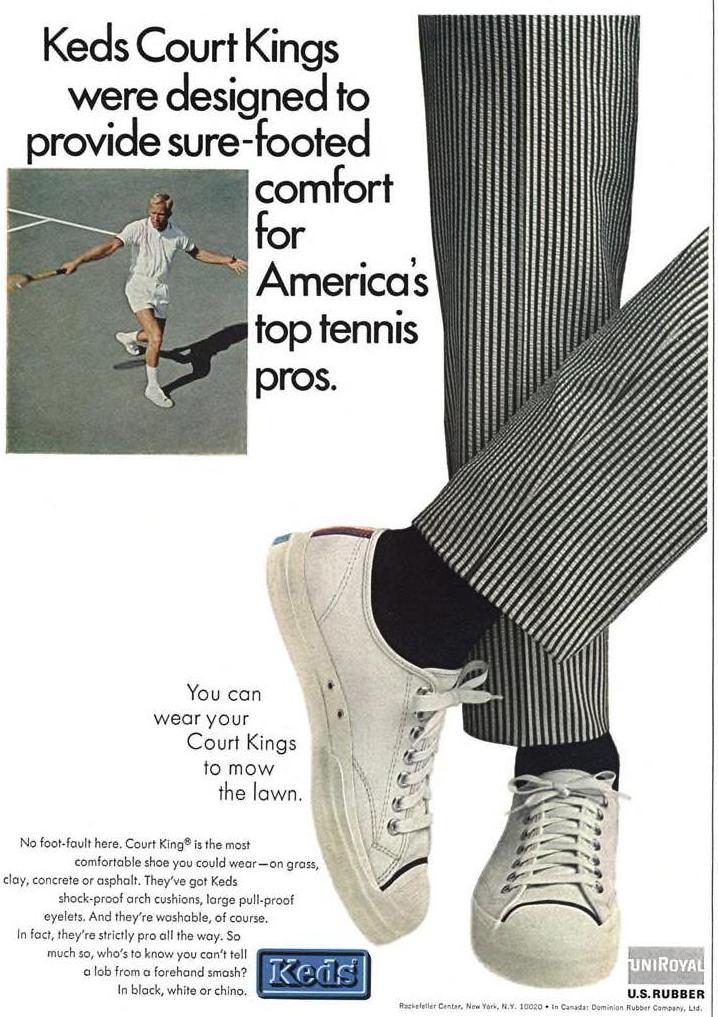 Keds Court Kings shoes (1965)