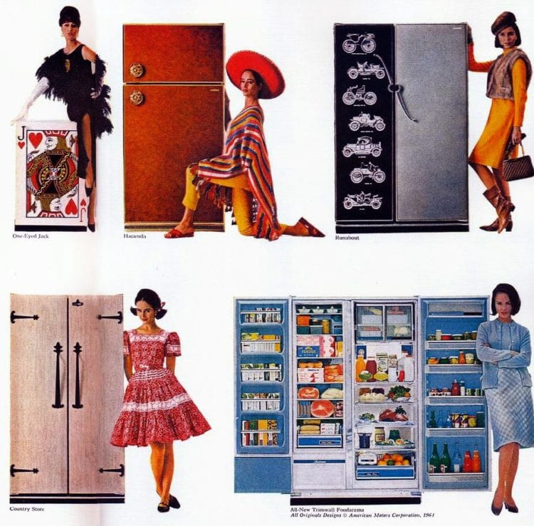 Kelvinator 1964 kitchen appliances and refrigerators (1)