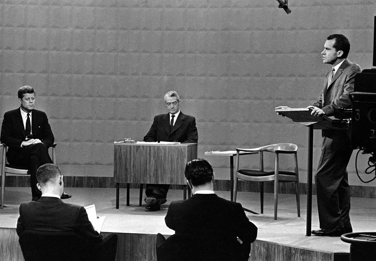 Kennedy Nixon first televised presidential debate